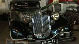 Lomakov`s old cars moto museum - Moscow Russia