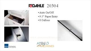 Dahle 20304 Strip Cut Paper Shredder - Tour