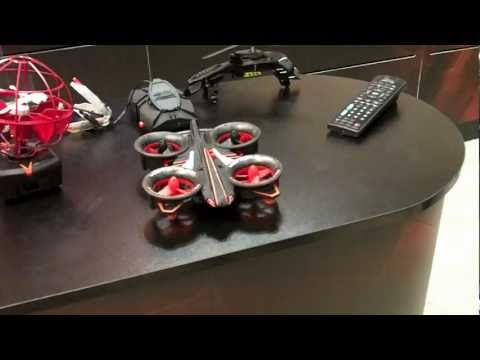 Air Hogs Elite Helix X4 RC Quadcopter Heli First Look Toy Fair 2013