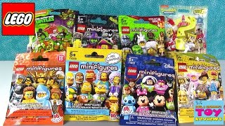 Lego Disney Simpsons Monsters Mega Bloks TMNT Spongebob Blind Bag Opening | PSToyReviews
