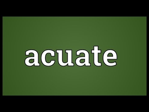 Header of acuate