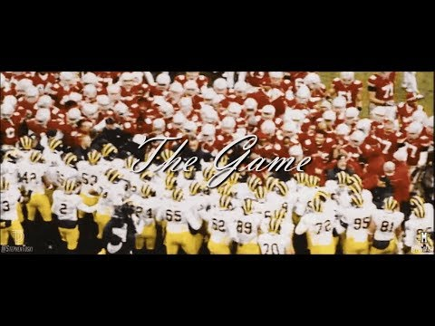 The Game 2018 || Michigan vs. Ohio State Hype Video