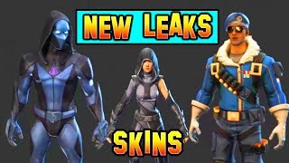 *NEW* Fortnite LEAKED SKINS 3D Models (Omen, Royale Bomber, Vision)