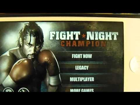 Fight Night Champion App Review for iPhone. iPod Touch and iPad (HD)