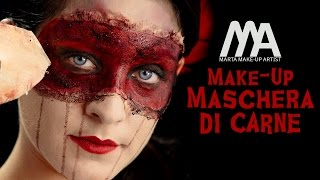 Make-up Maschera di Carne | Come truccarsi per Halloween | Marta Make-up Artist