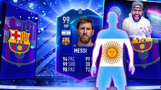OMG I GOT 99 MESSI TOTKS! FIFA 19 Ultimate Team