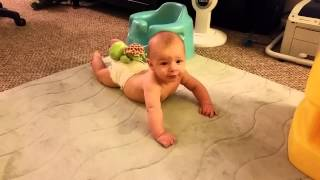 "Levi in ""crawl position"""