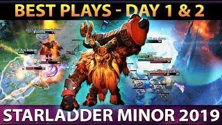 Best Plays STARLADDER ImbaTV 2 Minor Day 1 & Day 2 - Dota 2