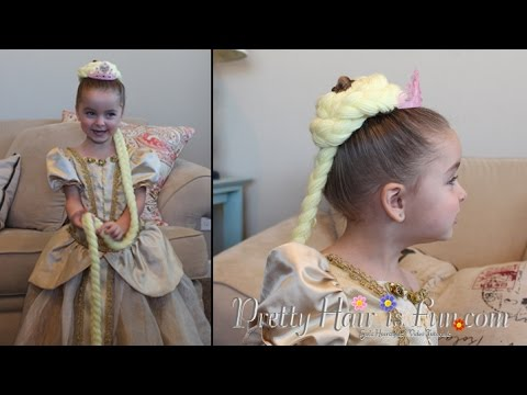 how to make rapunzel hair style