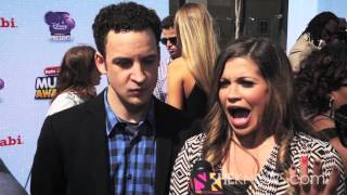 Ben Savage and Danielle Fishel From Boy Meets World - Celebrity Interview