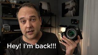 HEY! I'M BACK!