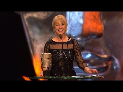 Dame Helen Mirren wins Fellowship Bafta - The British Academy Film Awards 2014 - BBC One