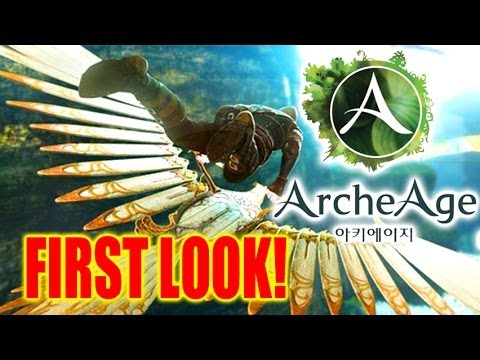 Archeage Gameplay First Look! (English)