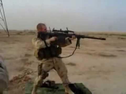 Modern Warfare 2 - Sniper Rifles - Barrett .50cal.wmv