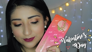 MAQUILLAJE PARA SAN VALENTIN  / SWEET PEACH TOO FACED PALETTE