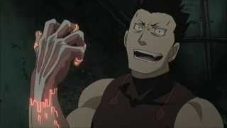 King Bradley vs Greed - Fullmetal Alchemist Brotherhood