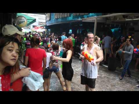 songkran 2014 bangkok thailand at soi cowboy
