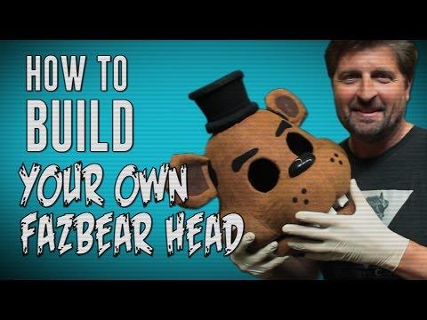 How To Make Your Own Freddy Fazbear Head