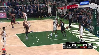 2nd Quarter, One Box Video: Milwaukee Bucks vs. Toronto Raptors