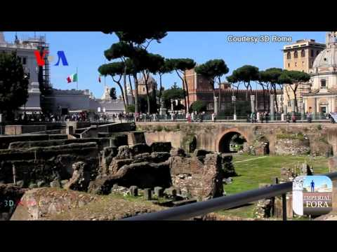 Sightseeing in Rome 2000 Years Ago - Today