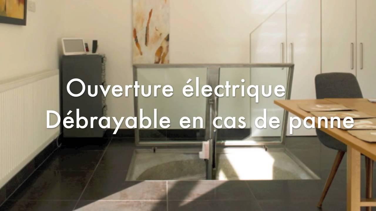 trappe bois blind e et inox youtube. Black Bedroom Furniture Sets. Home Design Ideas