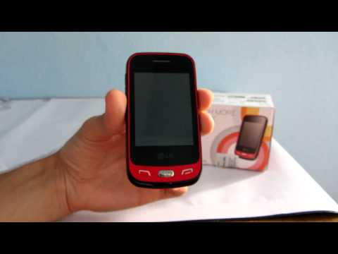 LG T565b Viper mobiltelefon kicsomagoló videó - mobilxTV