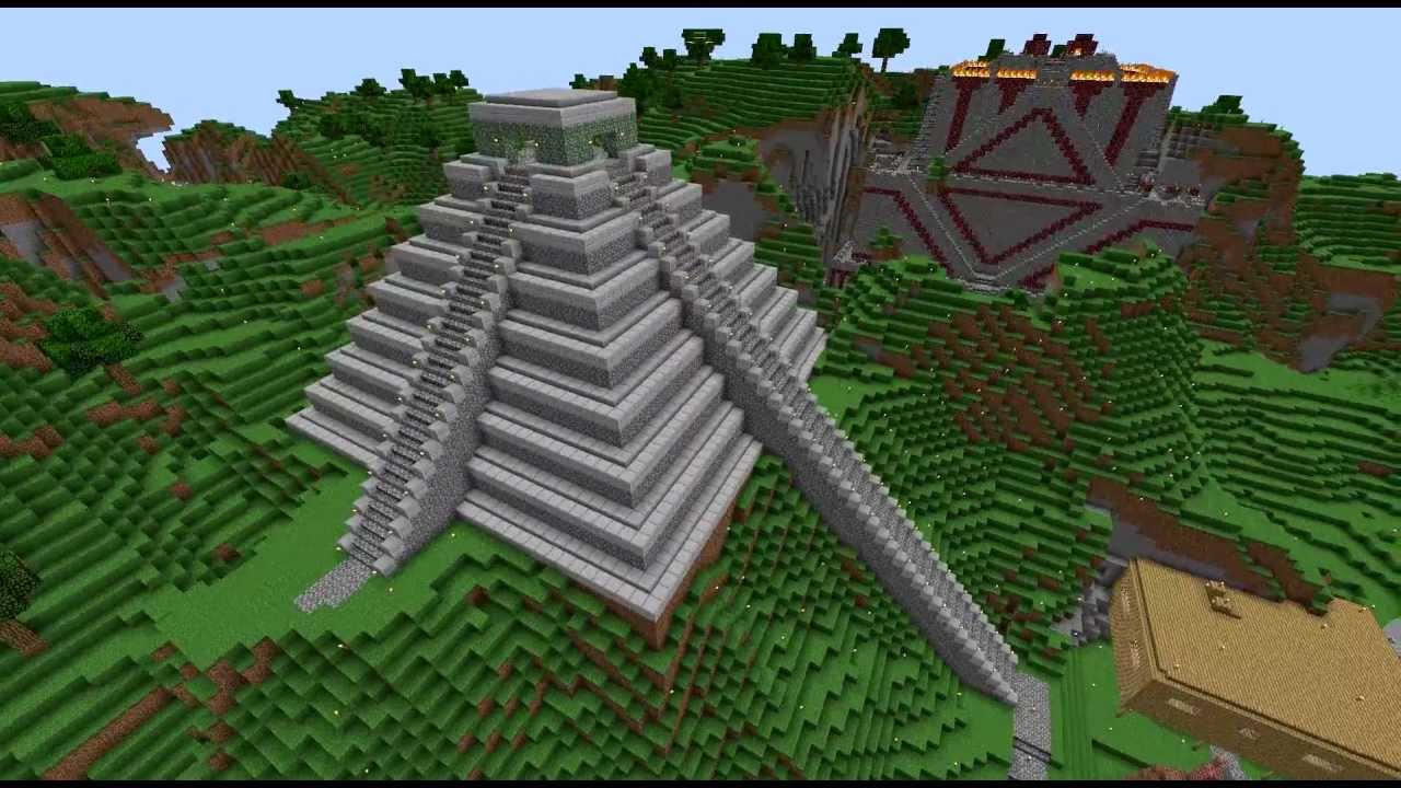 pics How to Build a Minecraft Village