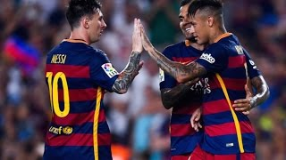 FC Barcelona vs AS Roma 3-0 All Goals & Highlights resumen completo 06/08/2015