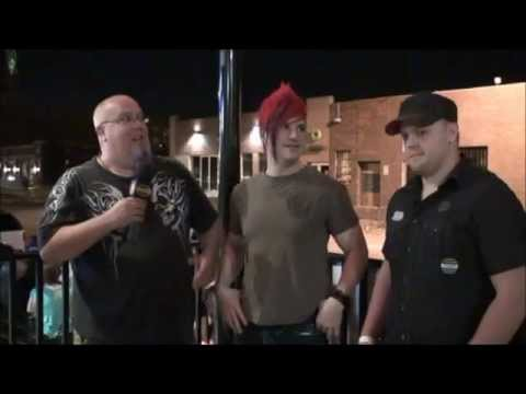 Klayton Celldweller and Bane of Yoto Creator Josh Viola at Zombie Crawl 2012