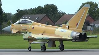 Brand New RSAF Eurofighter Typhoon(ZK618) Take-off & Recovery@BAE Systems warton Aerodrome 10/8/16