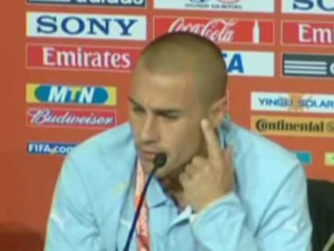 FIFA World Cup 2010 - 2006 winner Cannavaro says Italy will qualify and mustn't be judged yet