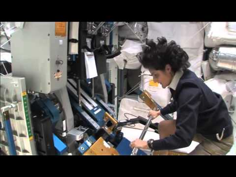 ISS Tour: Cupola, Weightlifting and A Closet Module | Video