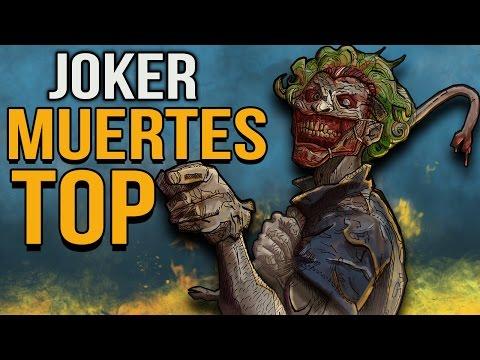 Top 10 Muertes Mas Brutales Del JOKER
