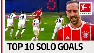 Best Solo Goals of the 2017/18 Season - Ribery, Gnabry, Lewandowski & More