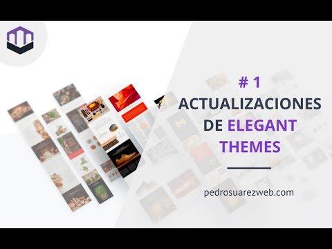 #1 Actualizaciones Elegant Themes