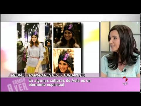 Consejos de moda: Medias transparentes y turbantes