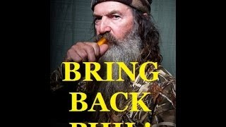 Phil Robertson of Duck Dynasty FIRED