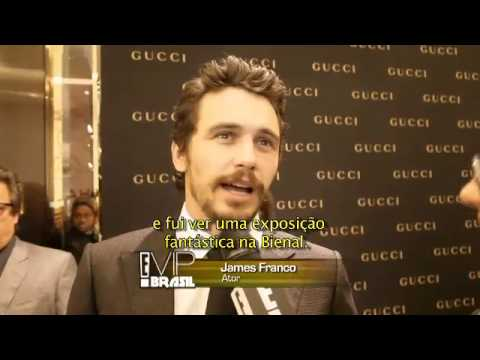 James Franco no Brasil / E! Entertainment Television