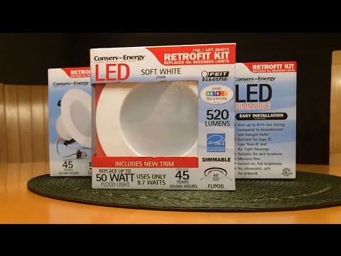how to install the costco led retrofit light kit diy reviews. Black Bedroom Furniture Sets. Home Design Ideas