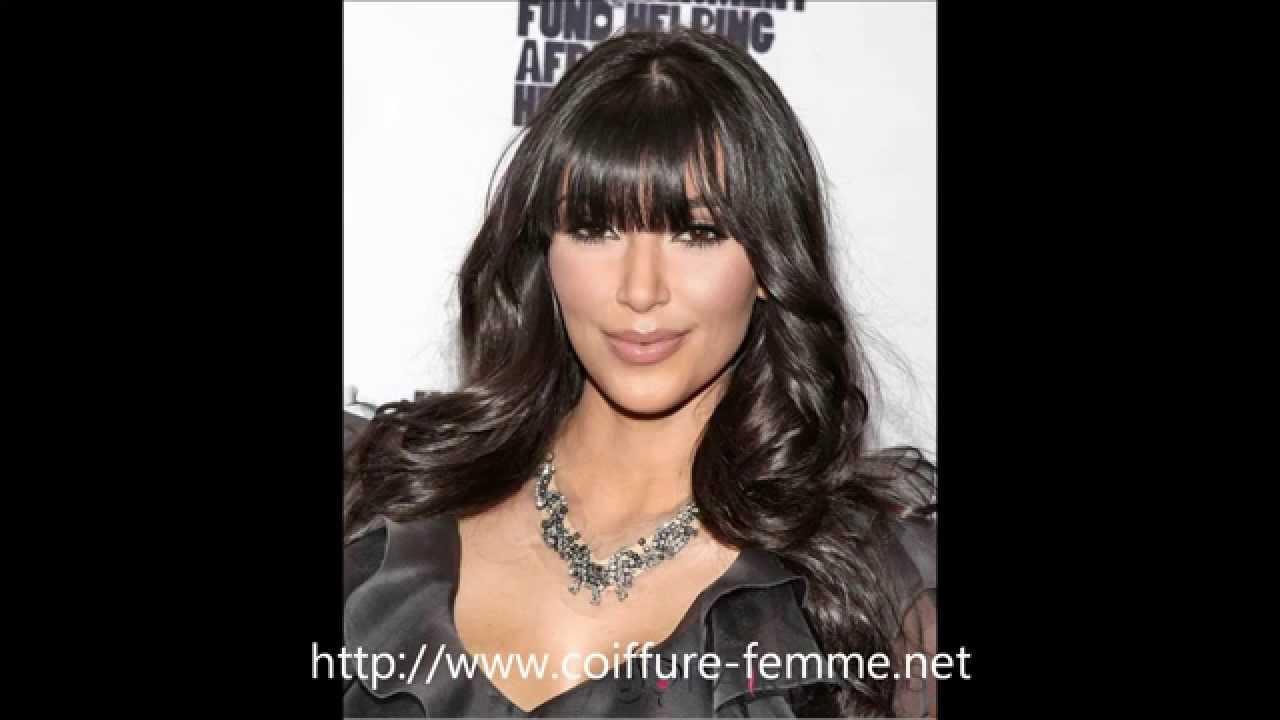 coiffure cheveux longs pour femme : Une coupe de cheveux long tendance en 2015 ! - YouTube