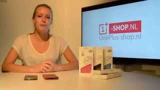 BOSO Leather Flip case OnePlus One OnePlus-shop.nl