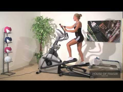 Difference between cross trainer and elliptical bike video