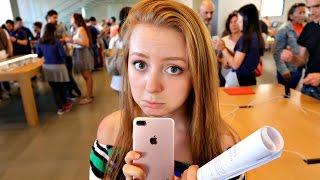 VLOG: ХОЧУ IPHONE 7 PLUS! 19.09.16
