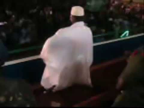 President Yahya AJJ Jammeh dancing with the crowd....what a President....we love you Yahya