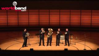 Boston Brass plays Caravan @ World Band Festival Luzern 2015