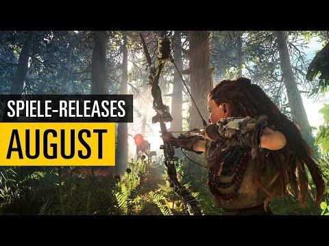 Spiele-Releases im August 2020   Für PC, PS4, Xbox One und Switch