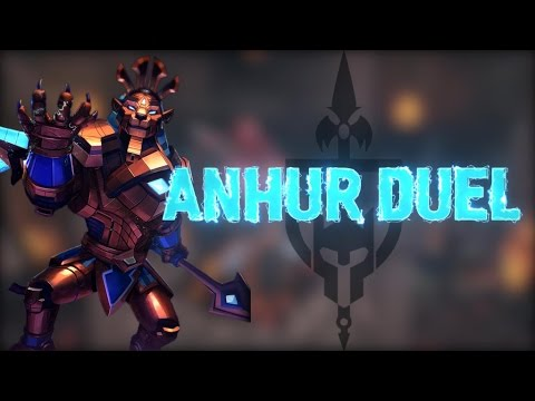 ANHUR DUEL: LION VERSUS HIS HUNTER - Incon - Smite