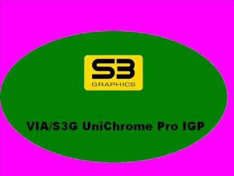 Via S3g Unichrome Pro Igp Vista Driver Download