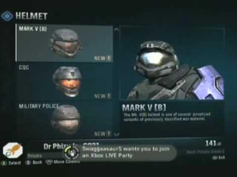 Halo Reach Armor Customizer Halo Reach Armor