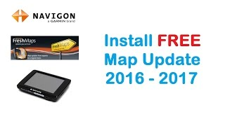 NAVIGON install free MAP update 2016 on GPS device
